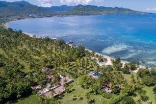 Exclusive discount on beachfront luxury in Lombok, Indonesia